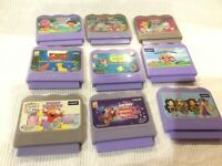 Vtech VSmile Game Cartridges Lot of 9/Games all in French