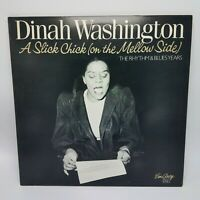 DINAH WASHINGTON A Slick Chick (On The Mellow Side) EMARCY 2xLP NM