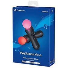 PlayStation Move Motion Controllers Two Pack PS3 PS4 Very Good PlayStation 4 6Z