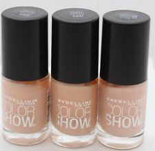 3 PK Maybelline Color Show Nail Polish 150 Born With It .23 oz