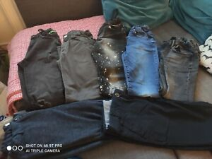 Boys Bundle Of Jeans/Trousers Age 11-12