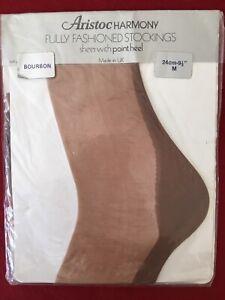 Aristoc Harmony Point Stockings - Bourbon 9 1/2