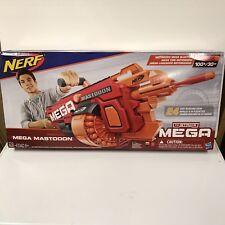 Nerf Mega Mastodon GUN N-STRIKE NEW IN BOX RED Dart Foam Mastadon Blaster