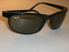 72ecc40c56 B L RAY-BAN W1847 SHINY BLACK PS2 G15 UV GLASS CATS PREDATOR WRAPS  SUNGLASSES