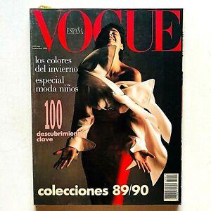 Vogue España Spagna Spain septiembre 1989 Giovanni Gastel Franco Moschino Velvet