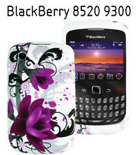 TPU gel silicone case cover Art white for BlackBerry Bold Curve 8520 8530