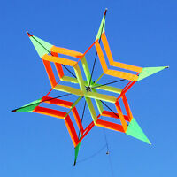 3D Colorful Flower Delta Kite Single Line Outdoor Fun sport Kids Toy Easy