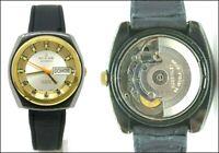 Orologio Nulox automatic watch caliber eta 2789 mackinley 70's clock veliero