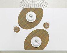 CHILEWICH OnEdge Mini Basketweave Confetti Placemats Brand New Set of 3 mats