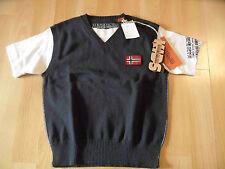 NAPAPIJRI schöner Pullunder m. Shirt Lagenlook MILIARD blau Gr. 6 / 116 NEU 516