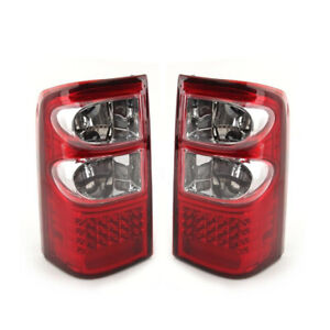 1Pair LED Rear Tail Brake Light Fit For Nissan Patrol GU Series 1/2 /3 1997-2004