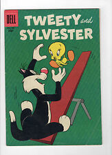 Tweety and Sylvester #15 (Dec 1956-Feb 1957, Dell) - Good+