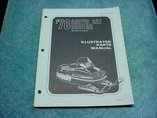Arctic Cat 1978 Parts Manual Cheetah 5000 Snowmobile Book OEM #210