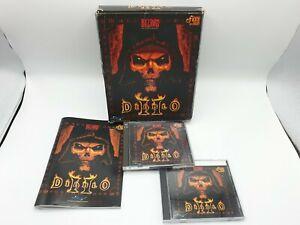 Diablo 2 II big box PC game blizzard