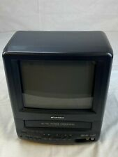 "Sansui 9"" TV VCR Combo COM0961B VHS Retro Gaming AC/DC Mini CRT - 09/2002"