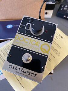 Vintage Electro Harmonix Doctor Q Envelope Filter / Follower Effects Pedal