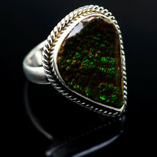 Ammolite 925 Sterling Silver Ring 6.25 Ana Co Jewelry R977608F