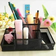 Metal Black Mesh Desk Cup Organiser for Office Home Pen Pencil/Stationary/Holder