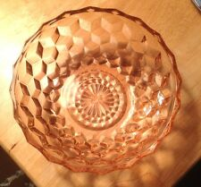Pink Depression Glass Bowl T2