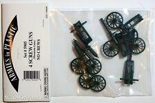 Armies in Plastic Colonial Wars 4x British Mountain Screw Guns (no crews) 1/32