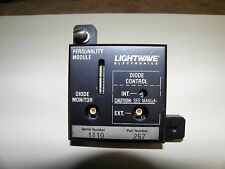 Lightwave Electronics Personality Module Diode Laser 257
