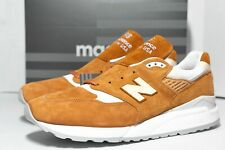 "NEW BALANCE M998 TCC ""MADE IN USA"" Brown Curry White  Sneakers Men's Size 12"