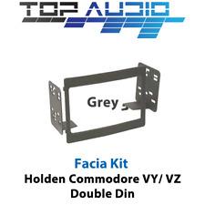 Aerpro Holden Commodore VY VZ Grey Radio Double 2 DIN Facia Dash Panel FP9056G
