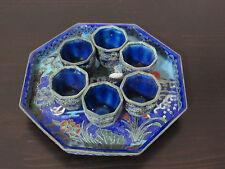 Miniature Chinese Enameled Cloisonne Tea Set