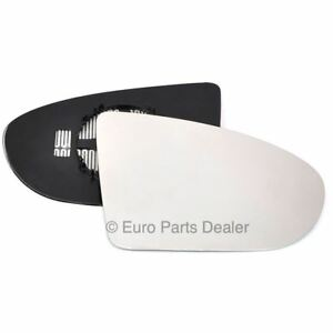 Right Driver side mirror glass with clip for Nissan Qashqai 2006-13 Heated