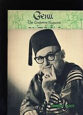 JOHNNY PLATT GENII MAGICIANS MAGAZINE MARCH 1959 - contents in post