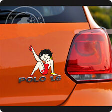"Betty Boop Car Decal Sticker Motors New 6""×5"""