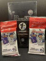 2020 Bowman 1st Edition Hobby + 2 Bowman Value Packs RANDOM Team Break.