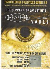 "DEF LEPPARD Vault UK magazine ADVERT / mini Poster 11 x 8"""