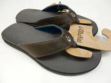 Olukai Mens Alania Charcoal Charcoal Size 10