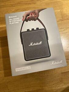 Marshall Stockwell II Bluetooth Speaker - NEW