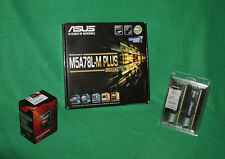 COMBO AMD FX 8320e 4GHz Processor 8GB DDR-3 RAM ASUS M5A78L-M+ Motherboard NIB