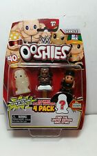Wwe Ooshies 4 Pack figures Pencil toppers - box 2 with glow in the dark
