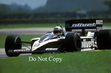 Elio De Angelis Brabham BT55 F1 Season 1986 Photograph