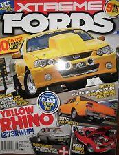 Xtreme Fords #6 ED XY XE XT Falcon XA Coupe BA XR8 Ute TC Cortina Capri Mustang