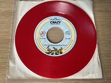 The Glass Family red vinyl 45 record CRAZY 1979