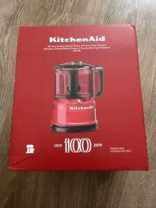 Kirchenaid - Mini Food Processor - Limited Edition 100 Jahre - Passion Red - NEU