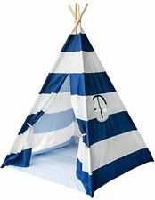 Sorbus Teepee Tent for Kids Play — Includes Portable Carry Bag for Travel