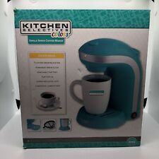 Kitchen Selectives, Blue 1-Cup Single Serve Drip Coffee Maker,New in Box