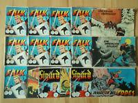 Falk + Sigurd - Konvolut 11 Piccolo-Comichefte ORIGINAL ERSTAUFLAGE Lehning