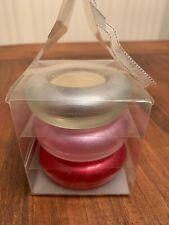 Pier 1 Tea Light Candles & Holders Gift Set - Set Of 3 - New