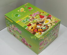 Miniatures Bean Egg Strawberry Complete Box Rare - Re-ment , h#3ok