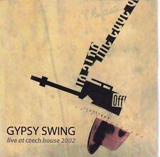 GYPSY SWING Live At Czech House 2002 CD - Jazz