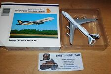 Singapore Airlines Boeing 747-400F 1:500 Herpa Wings 500869 Privatsammlung XIX