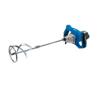 DRAPER 1400W CEMENT PLASTER MORTAR PAINT MIXER MIXING PADDLE 240V 56427 NEW