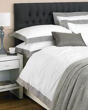 100% Cotton Percale 200 Thread Count Duvet Cover Bedding linen Bed Set & P/cases
